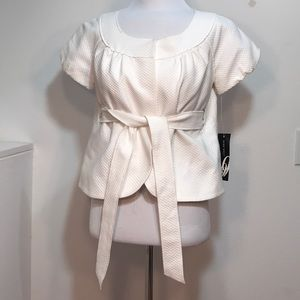 NWT. White suit jacket from NineWest
